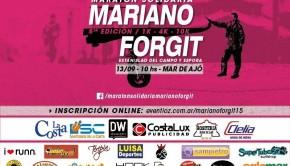 Maratón Solidaria Mariano Forgit 2015