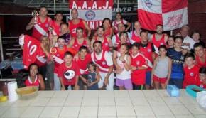running team Argentinos Juniors